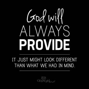 GODWILLALWAYSPROVIDE
