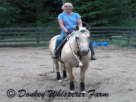 Melody's First Ride On Lilly 7_12_2013