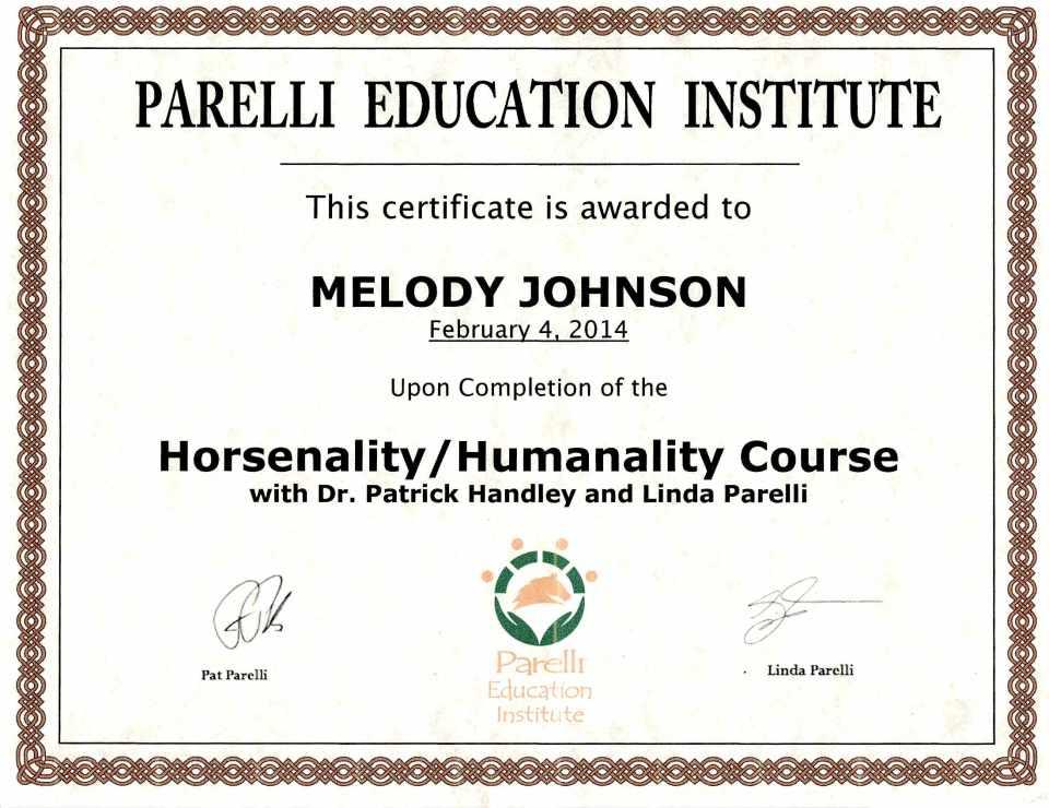 certificateparrellihorsanlityfeb42014