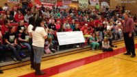 Utah girl with cancer gives her school incredible gift