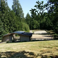 Carriage Home For Sale Kingston, WA On Five Acres, Six Garages, Outdoor Arena