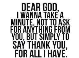 THANK god