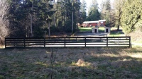 KITSAP COUNTY, WA FARM FOR SALE, 6 GARAGES, FIVE ACRES 415K