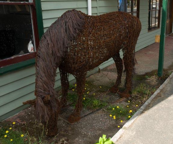 horse-sculpture